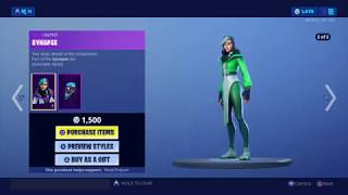 Fortnite item shop 15th June 2019 - NEW SYNAPSE SKIN AND HEX WAVE WRAP
