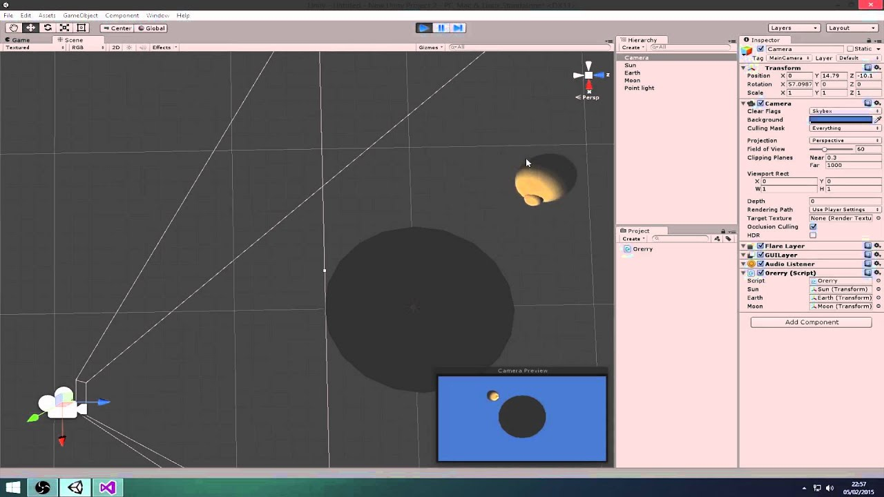 Week 02 - Local Spaces & Rotation [Unity3D v4 C# Tutorial]