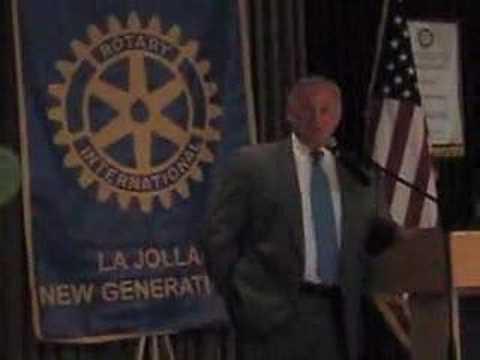 Mayor Sanders at LJ New Generations Rotary Charter...