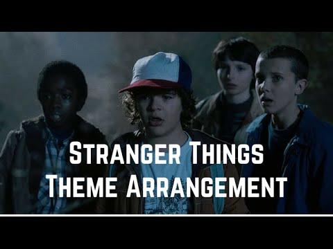 Stranger Things Theme Song // Sheet Music