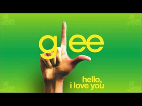 Hello, I Love You  Glee HD FULL STUDIO
