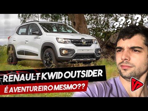 Renault Kwid Outsider 2020 é realmente aventureiro?! | Top Speed