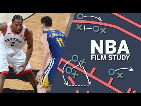 How the Warriors took Kawhi Leonard away on Raptors' final play | 2019 NBA Finals | SC with SVP