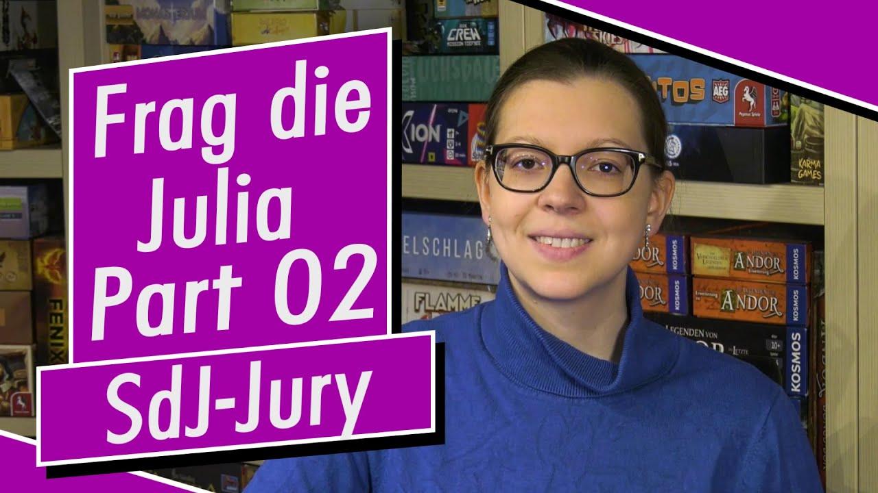 """Frag die Julia - Part 02 - Rund um die Jury """"Spiel des Jahres"""" - Spiel doch mal! - Brettspiele"""