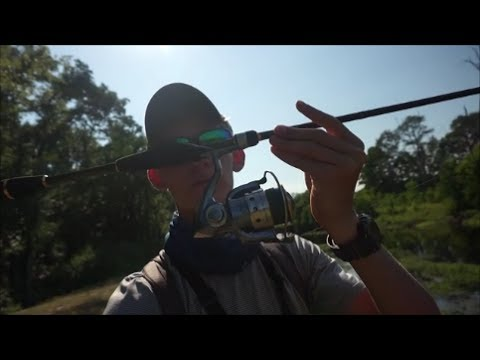 Breaking In The New Rod - Daiwa AIRD-X