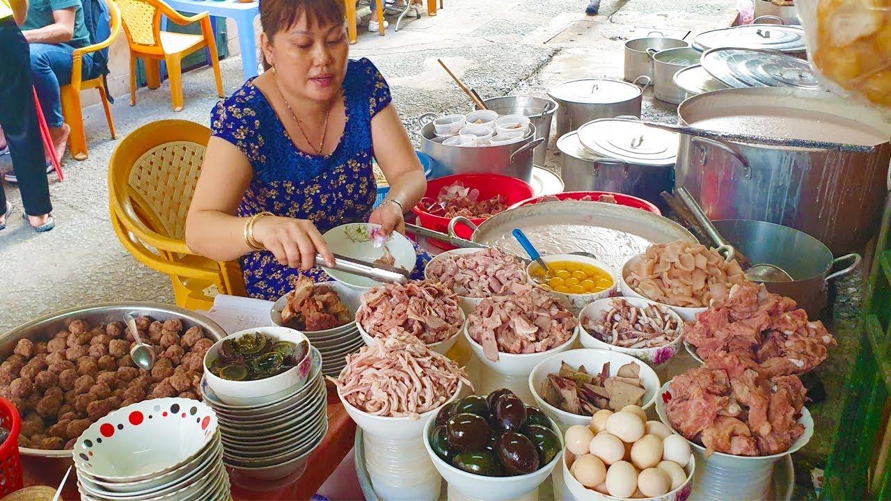 Kỳ lạ Cháo Sườn Bà Hào bán thâu đêm gần nửa thế kỷ ở Sài Gòn