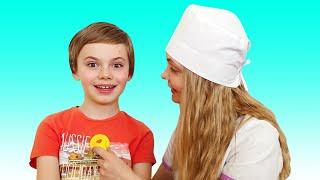 Doctor Checkup Song | 동요와 아이 노래 | 어린이 교육 | Polina Fun