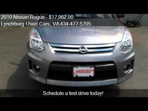 2010 nissan rogue s krom edition for sale in forest va 24 youtube. Black Bedroom Furniture Sets. Home Design Ideas
