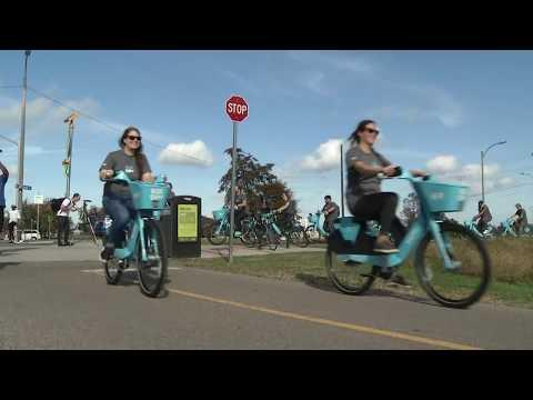 Blue Bikes - Bike Sharing Program Begins in New Orleans