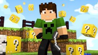 Minecraft: SKYWARS COM LUCKY BLOCK ?! - MINIGAME NOVO
