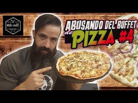 ABUSANDO DEL BUFFET DE PIZZA #4 - El buffet de Moli Vell (Valencia)