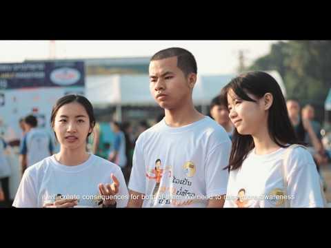 Marathon runners talk about Girlhood Not Motherhood