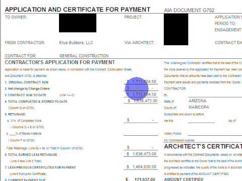 Construction pay applications and invoice tutorial youtube for Construction payment certificate template