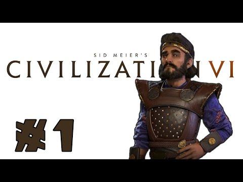Let's Play: Civilization VI - Surprising Persia! - Deity - Part 1