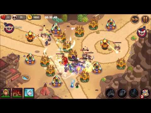 Realm Defense Shattered Realms Sunken Sands Level 12 Endless No Power Ups 16 Minutes