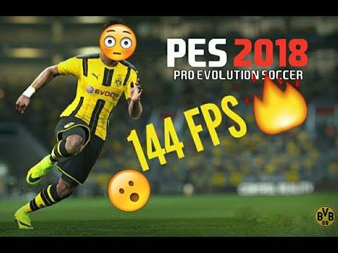 Pro Evolution Soccer 2018 144 FPS HIGH GRAPHICS  2KHD