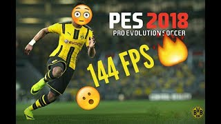 Pro Evolution Soccer 2018 144 FPS HIGH GRAPHICS. 2KHD