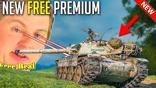 Free Real Estate - Bourrasque Challenge For Free Tank | World of Tanks Bat.-Châtillon Bourrasque
