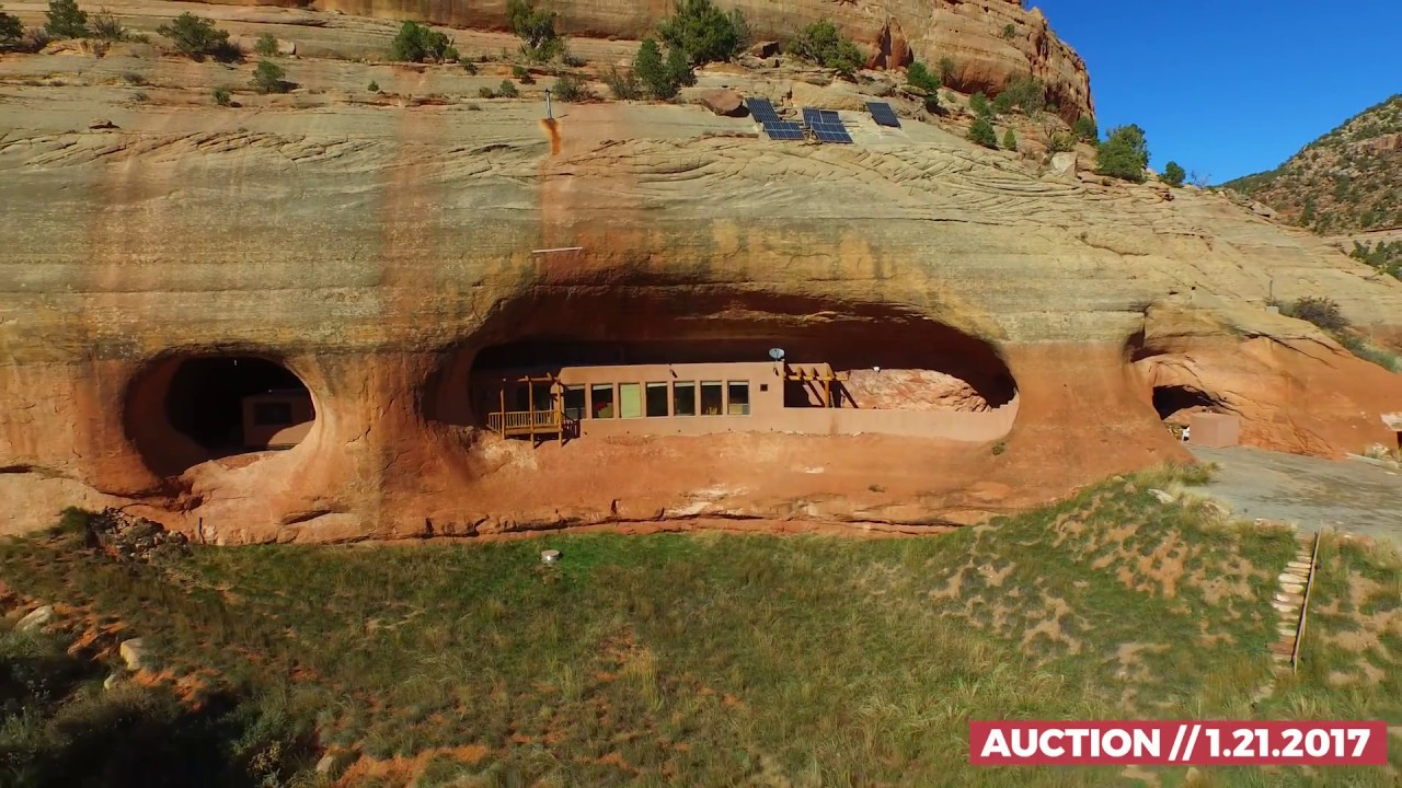 Utah cliff house new auction date youtube for Cost to build a house in utah
