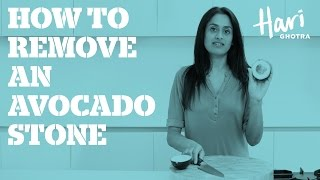 How to remove an avocado stone