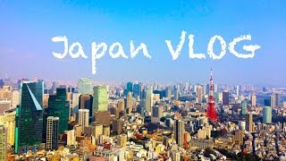 Japan VLOG - Roppongi Hills, Zozoji Temple a Tokyo Tower