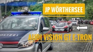 Jean Pierre Kreamer am Wörthersee JP Performance Audi Etron Vision GT Seetron 2k18