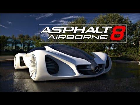 Asphalt 8 Wallpaper Cars Mercedes Benz Biome Hd Asphalt 8 Update Youtube
