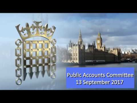 Public Accounts Committee Online VAT Fraud 13th Sept 2017