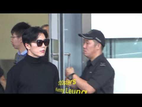 金材昱Kim Jae Wook(김재욱) Arrived Hong Kong Airport 20171130
