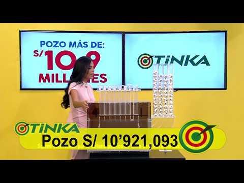 Sorteo Tinka - Domingo 22 de abril de 2018