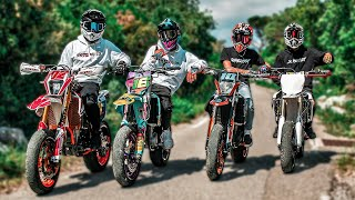 SUPERMOTARD ENTRE POTES ! (avec la TEAM SUPERMOT)