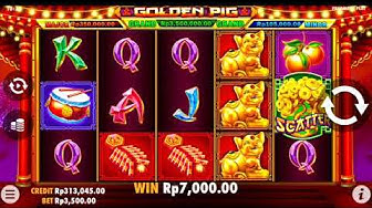 GOLDEN PIG - Slot Online - Pragmatic Play