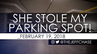 REVENGE! - She Stole My Owned Parking Spot (SILLY FUN Instead of Having Her TOWED)