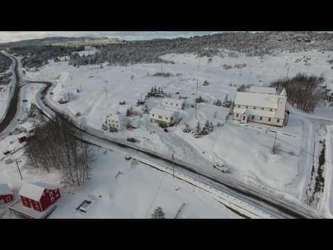 King's Cove by drone 1 of 3