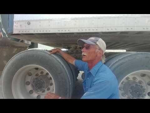 Arbuckle trucking school Pre-trip inspection