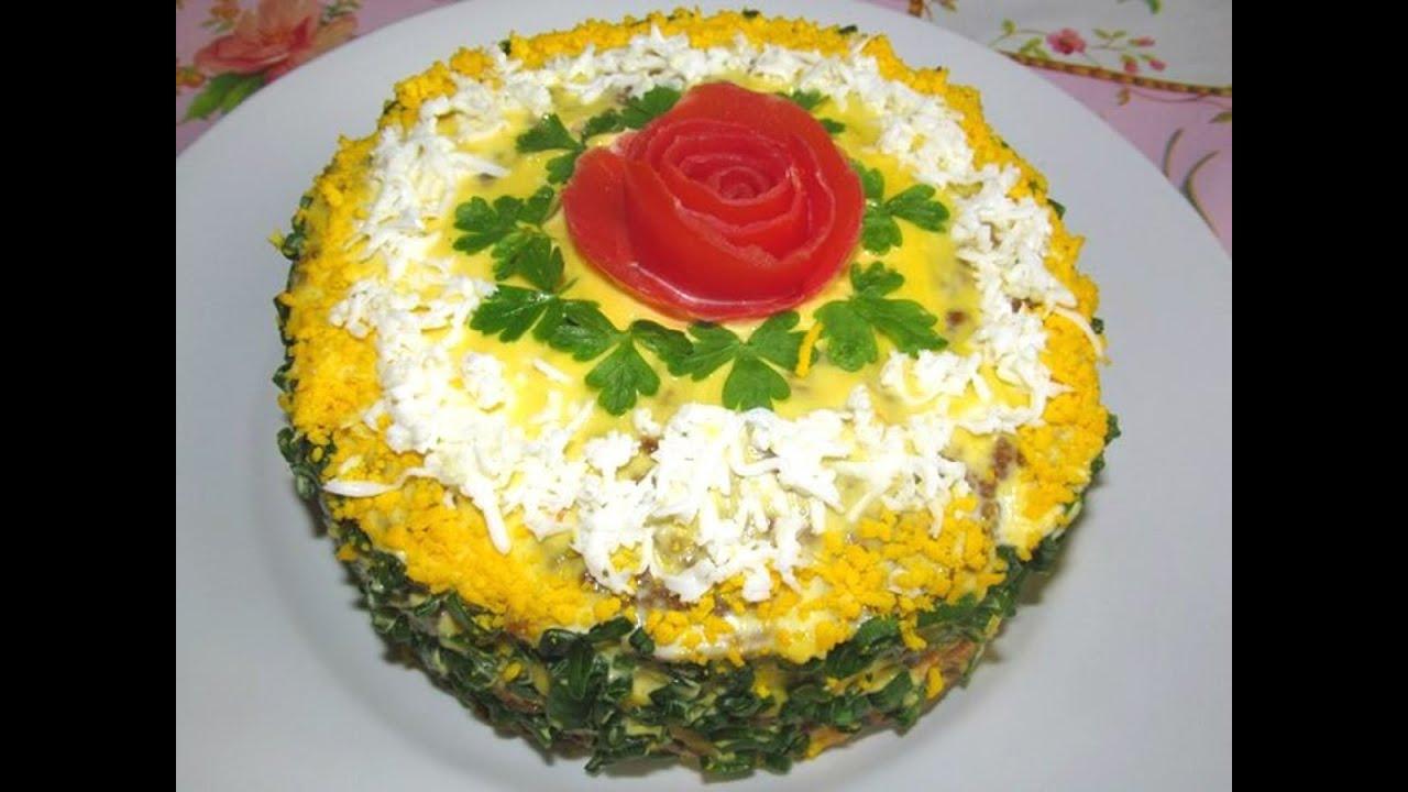 Как сделать печёночный торт видео фото 292