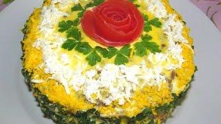 вкусно - ПЕЧЕНОЧНЫЙ #ТОРТ с  Морковью и Луком  #Рецепт ПЕЧЕНОЧНОГО ТОРТА  Закуски Рецепт