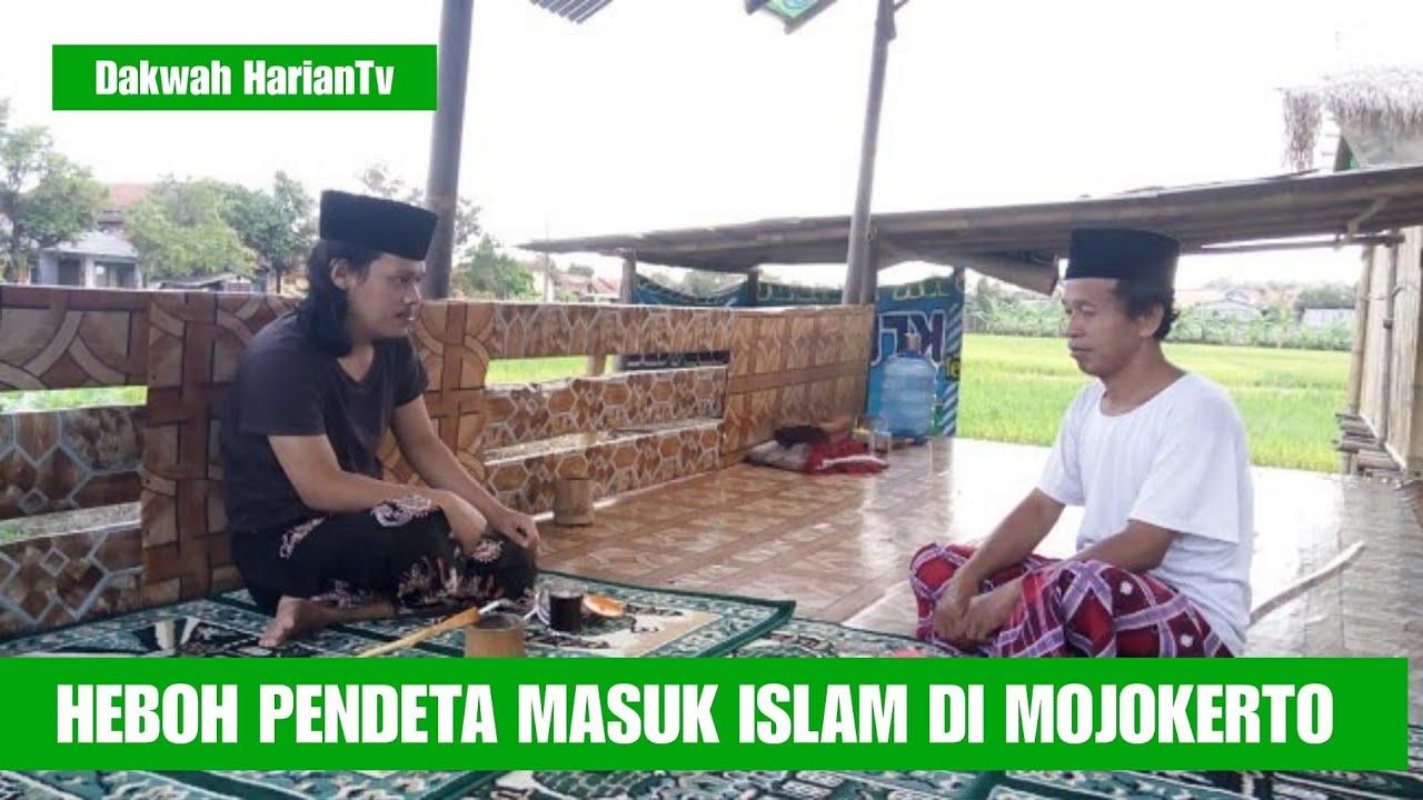 HEBOHH PENDETA DI MOJOKERTO JATIM MASUK ISLAM