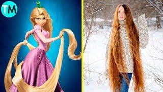 10 Rapunzel En La Vida Real