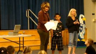 Alay Award at Cajon Park School 2012