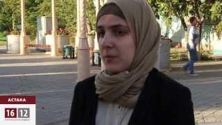 Cтудентку в Астане грозятся отчислить из колледжа из-за хиджаба / 1612