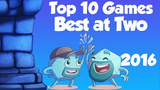 Top 10 Multiplayer Games That Are Best with Two