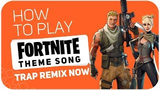 How to play: FORTNITE THEME SONG (TRAP REMIX NOW) - SUPER PADS - Kit WEAPON