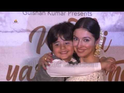 Kabhi Yaadon Mein SONG LAUNCH | Divya Khosla Kumar | CUTE  Little Star JASON