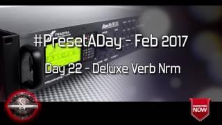 #PresetADay - Deluxe Verb Nrml Day 22 (Feb 2017)