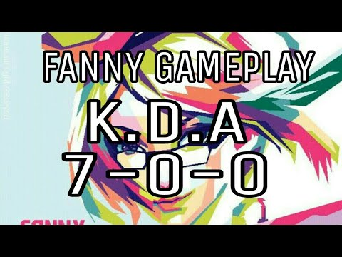 FANNY GAMEPLAY BY AMATEUR!