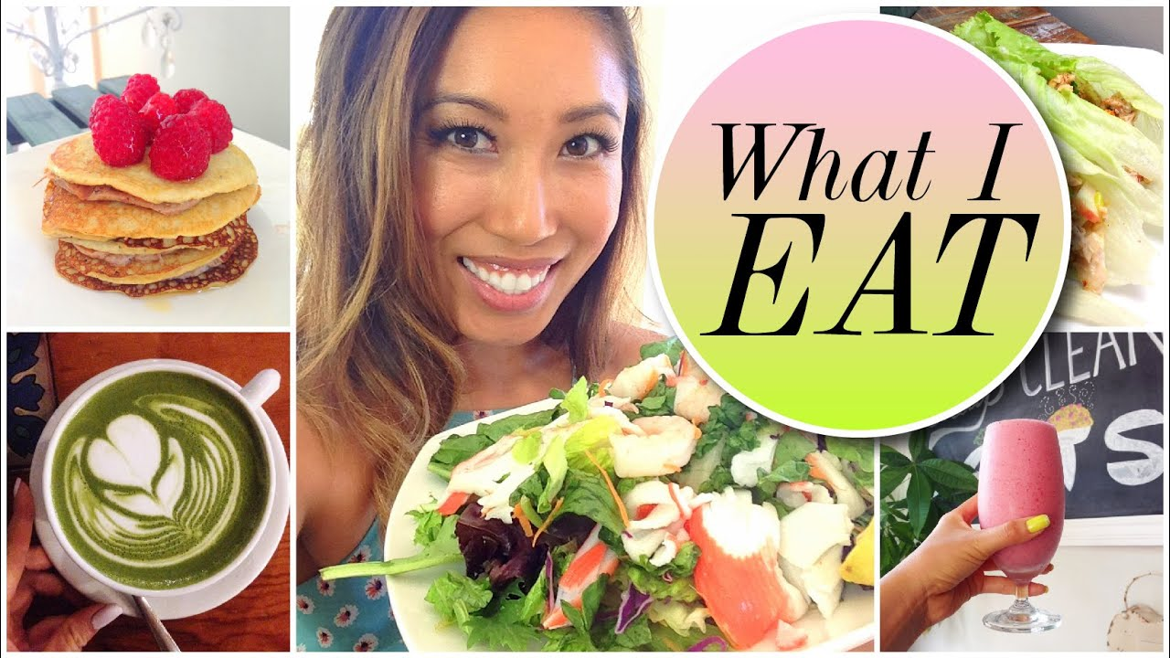 What i eat in a day healthy slimming recipe ideas youtube forumfinder Gallery