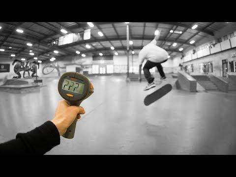 How Fast Can Yoshi Tanenbaum Bigflip?!