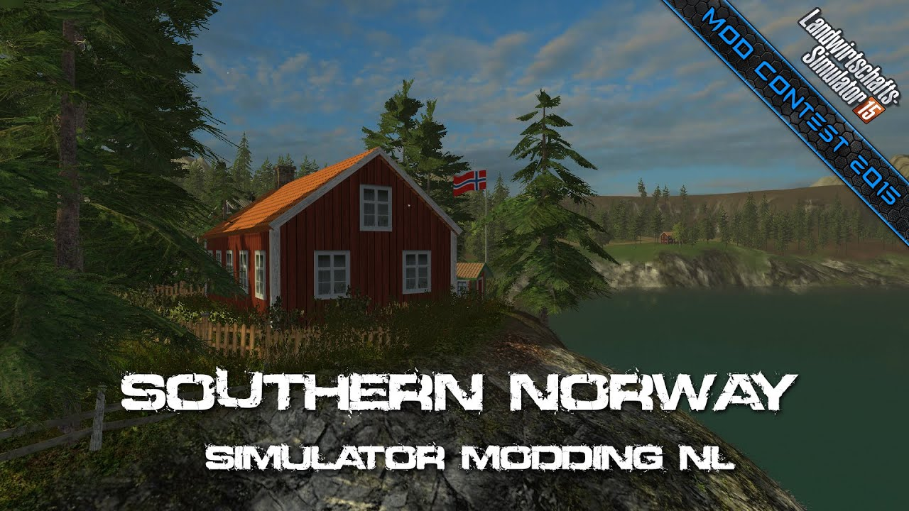 Mod Contest Southern Norway SimulatorModding NL YouTube - Southern norway map ls15