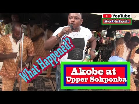 Akobe first Show at Upper Sokponba After THE CRISI track 2